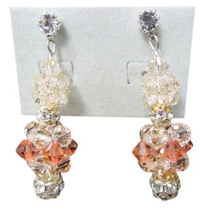 Giavan Giavan Hol231E- (e-6) Rock Candy Earring (peach crystal)