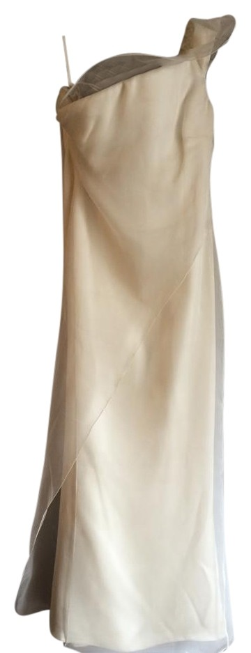 Giorgio Armani one shoulder  full lenght  dress gown