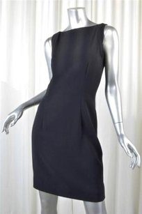 Giorgio Armani Label Womens Sleeveless Boatneck Sheath 404 Dress