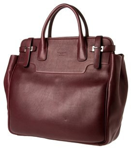 Giorgio Armani Travel Tote in Burgundy