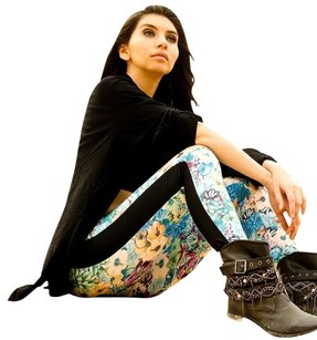 Gitanilla Color-blocking Pants Spring Multicolors Leggings