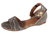 Givenchy 40 Ankle Brown Flat Nm Sandals