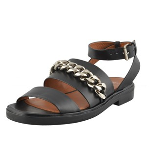Givenchy Ankle Strap Black Sandals