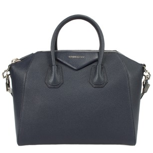 Givenchy Antigona Medium Blue Tote in Navy