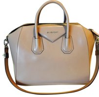Givenchy Antigona Medium Tote in Linen/Nude