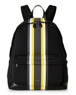 Givenchy Black and Yellow Beach Bag
