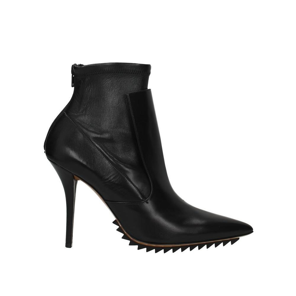 Givenchy Black Leather Ankle Boots/Booties Size EU 39 (Approx. US 9) Regular (M, B)