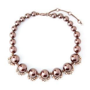 Givenchy Faux Pearl Statement Necklace