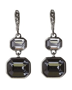 Givenchy Hematite-Tone Drop Earrings