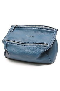 Givenchy Sugar Leather Satchel in Teal