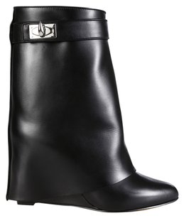 Givenchy Shark Lock 6 36 Black Boots