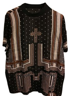 Givenchy Top Black Brown White