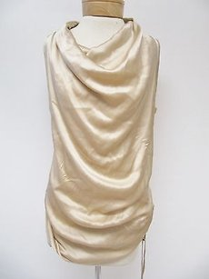 Gold Hawk Womens Silk Top Gold