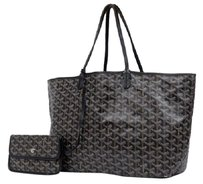 Goyard St Louis Neverfull Saint Louis Tote in Black