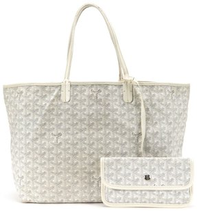 Goyard St. Louis Saint Louis Tote in White