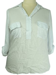 Grace Elements Plus Size Fashions Top White