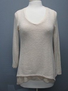 Green Envelope Long Sleeves Scoop Neck Solid Sma2411 Sweater