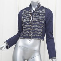 Gryphon Womens Navy Crystal Blue Jacket