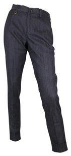 Gucci 50's W/stirrup Skinny Pants Blue/Gray
