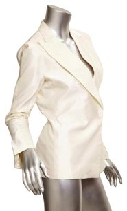 Gucci Womens Classic Ivory Jacket