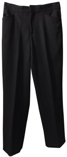 Gucci Wool Ankle Trouser Pants Black