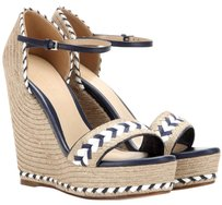 Gucci Blue and white Wedges