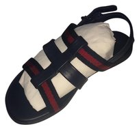 Gucci Blue/red Sandals