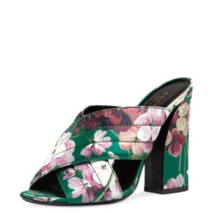 Gucci Bright Emerald Sandals
