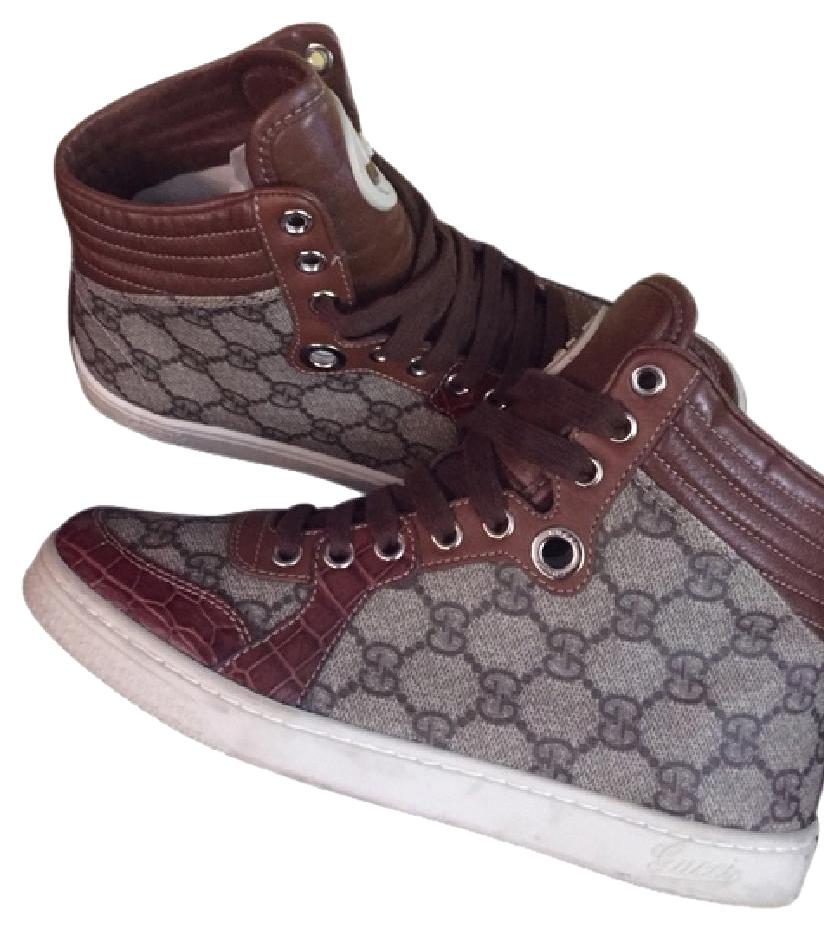 Chaussures Gucci Monogramme Brun bffHApY