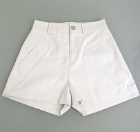 Gucci Cottonsilk Buttons 234100 Shorts Gray