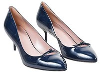 Gucci Navy Patent Blue Pumps