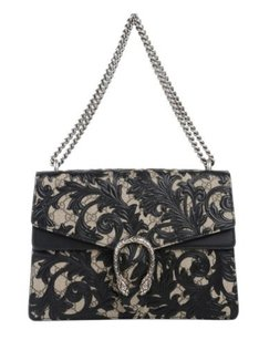 Gucci Dionysus Arabesque Floral Shoulder Bag