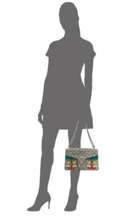 Gucci Dionysus Small Willow Hill Butterfly Shoulder Bag