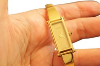 Gucci Elegant Vintage Gucci Gold Bracelet Watch