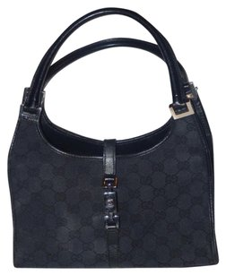 Gucci Envelope Top Dressy Or Casual Jackie Chrome Hardware Hobo Bag