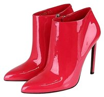 Gucci Gloria Patent Leather Fuchsia Boots