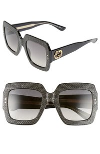 Gucci Gucci 54mm Square Sunglasses