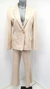 Gucci Gucci Beautifully Styled Light Pink Fully Lined Silk Pants Suit -