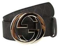 Gucci GUCCI Belt w/Interlocking G Buckle