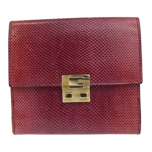 Gucci GUCCI Bifold Wallet Serpens Leather