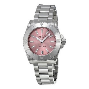 Gucci Gucci Dive Pink Dial Stainless Steel Ladies Watch