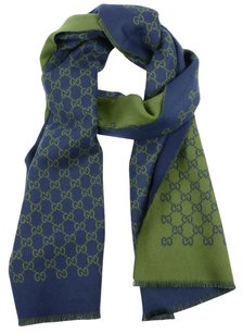 Gucci Gucci double jacquard gg wool scarf