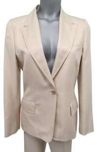 Gucci Gucci Elegantly Styled Light Pink Silk Pants Suit -