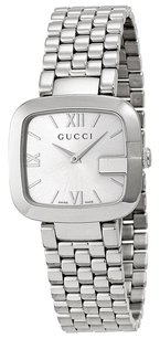 Gucci GUCCI G- Silver Dial Stainless Steel Ladies Watch YA125411