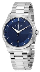 Gucci GUCCI G-Timeless Blue Dial Stainless Steel Unisex Watch YA126440