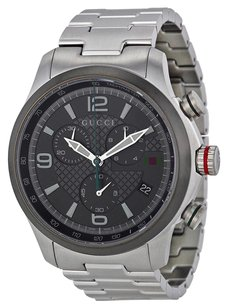 Gucci GUCCI G-timeless Grey Dial Stainless Steel Men's Watch YA126238