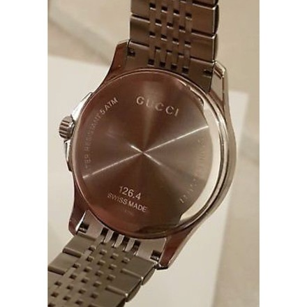 Gucci GUCCI G Timeless Men's Stainless Steel Bracelet Watch
