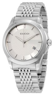 Gucci GUCCI G Timeless Men's Stainless Steel Bracelet Watch GCYA126401