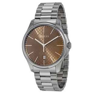 Gucci Gucci G-Timeless Stainless Steel Mens Watch