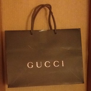 Gucci Gucci Paper Shopping Gift Bag 9x6.5x3.25 GG